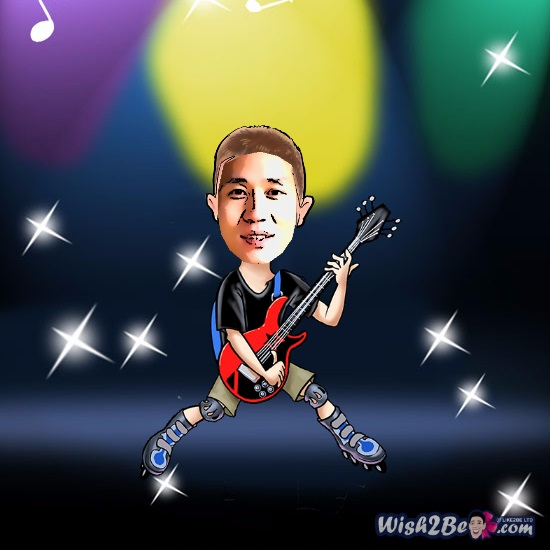 Cartoon yourself from photo online with free caricature maker - Wish2BE